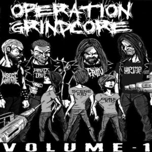 Operation Grindcore Cover Art